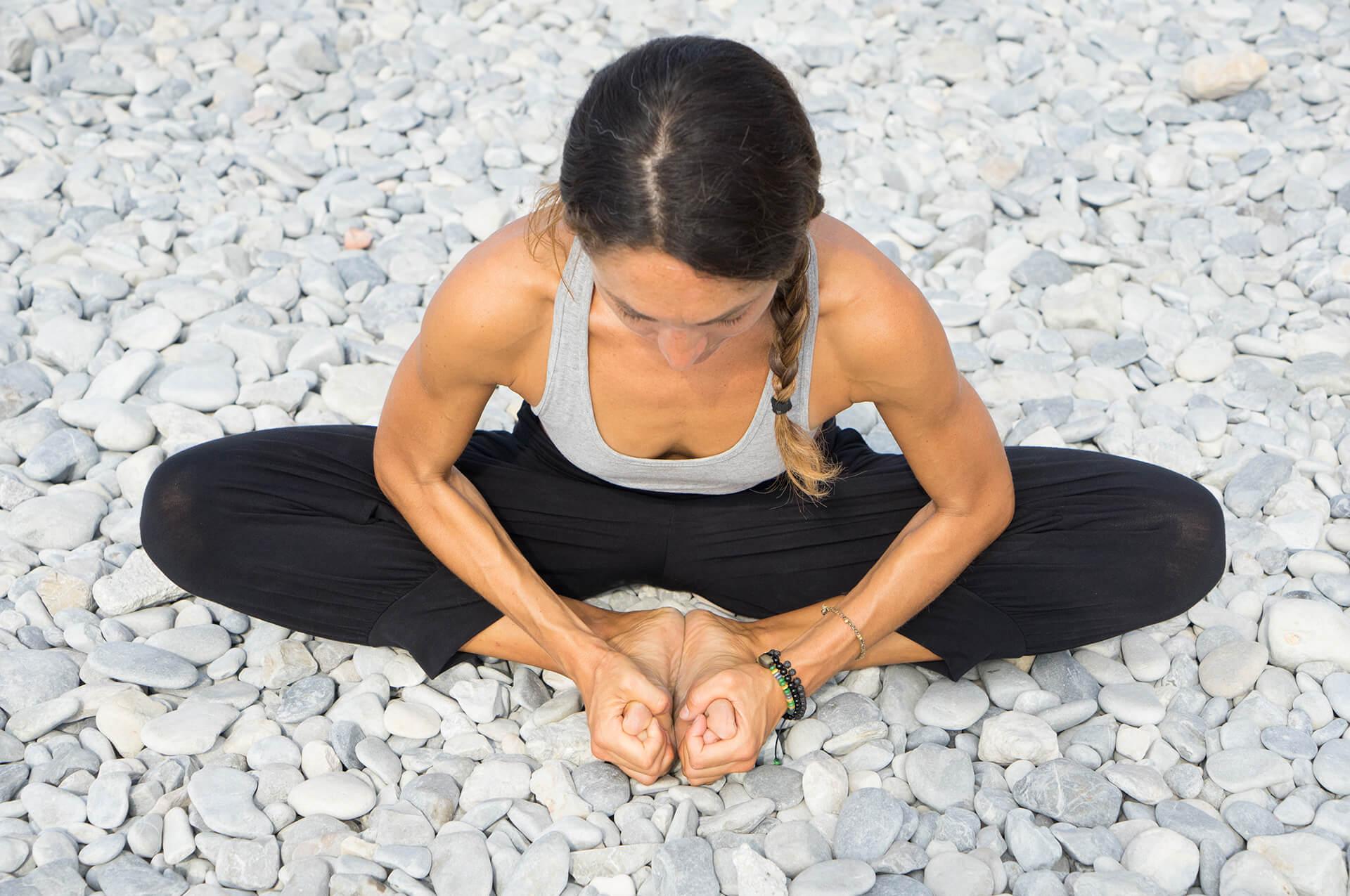 Baddha Konasana, yoga posture